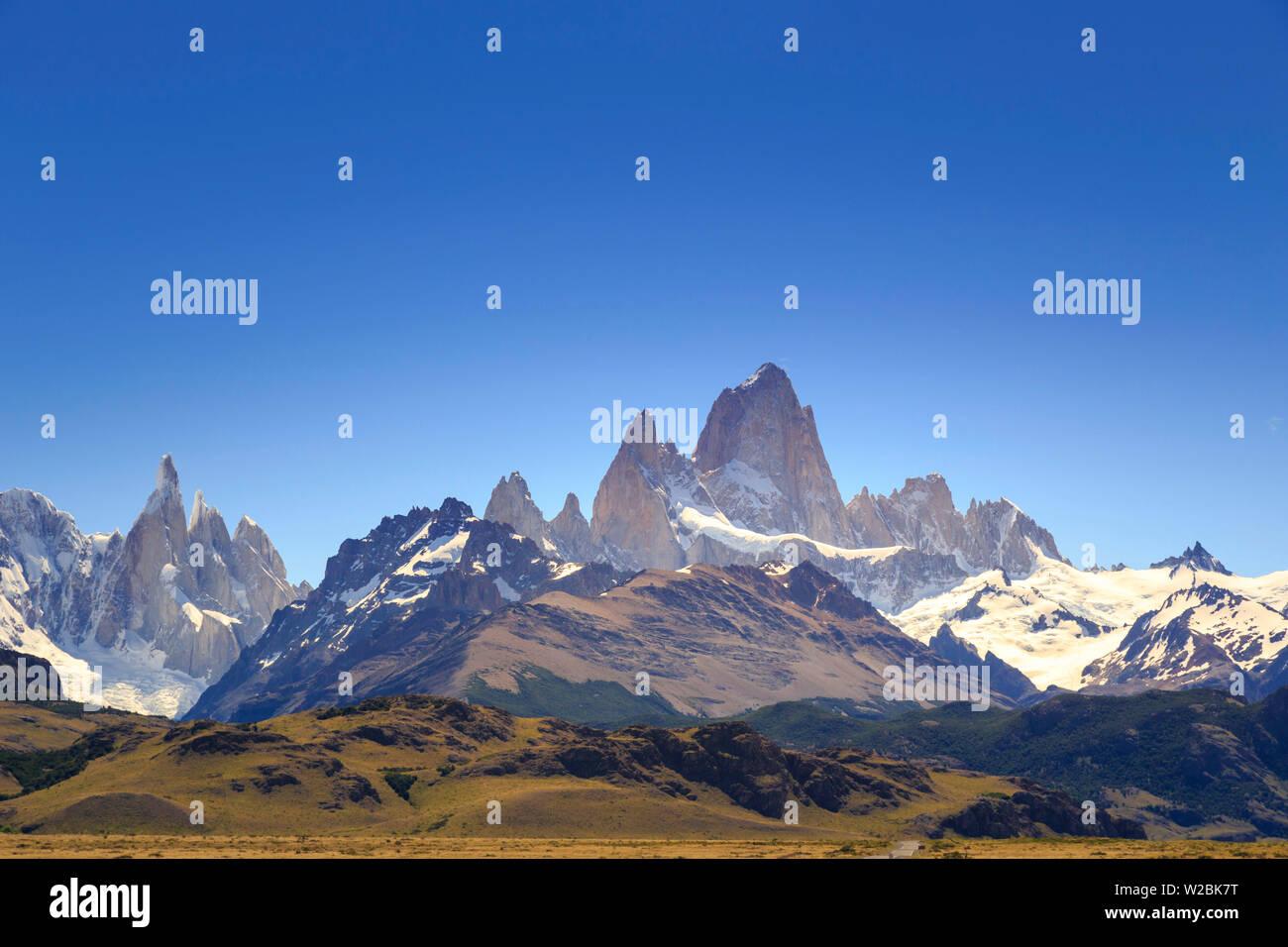 Argentina, Patagonia, El Chalten, Los Glaciares National Park - Stock Image