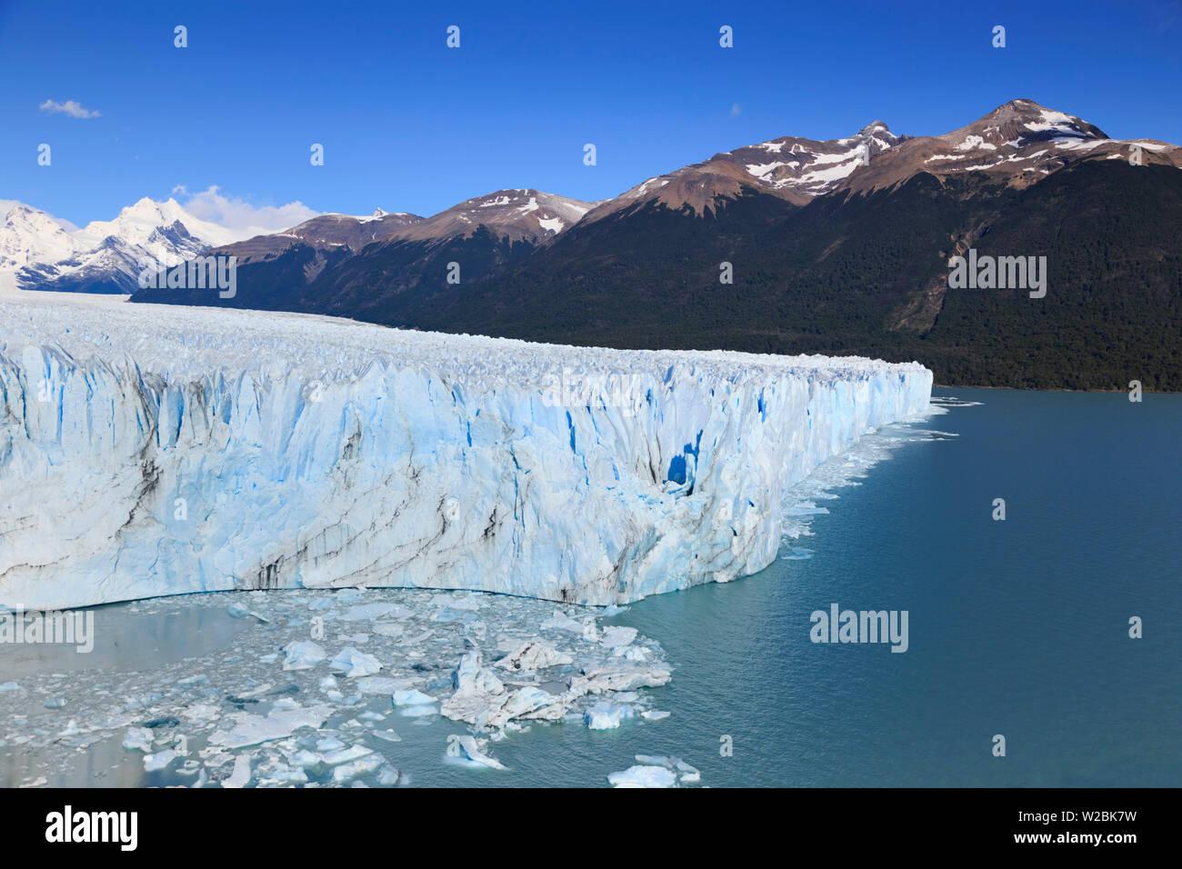 Argentina, Patagonia, El Calafate, Perito Moreno Glacier - Stock Image