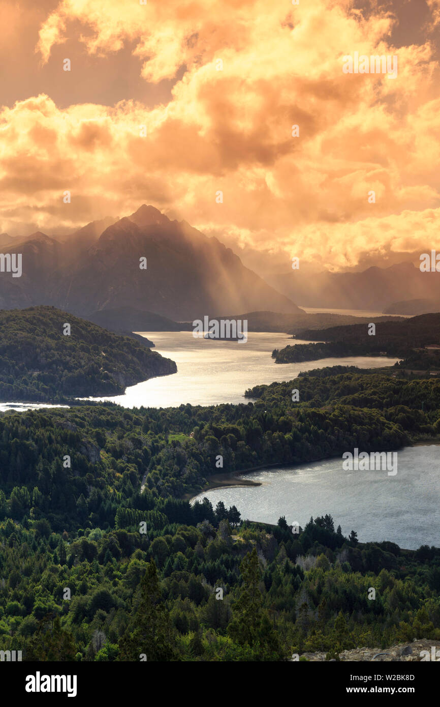 Argentina, Patagonia, Bariloche, Nahuel Huapi National Park - Stock Image