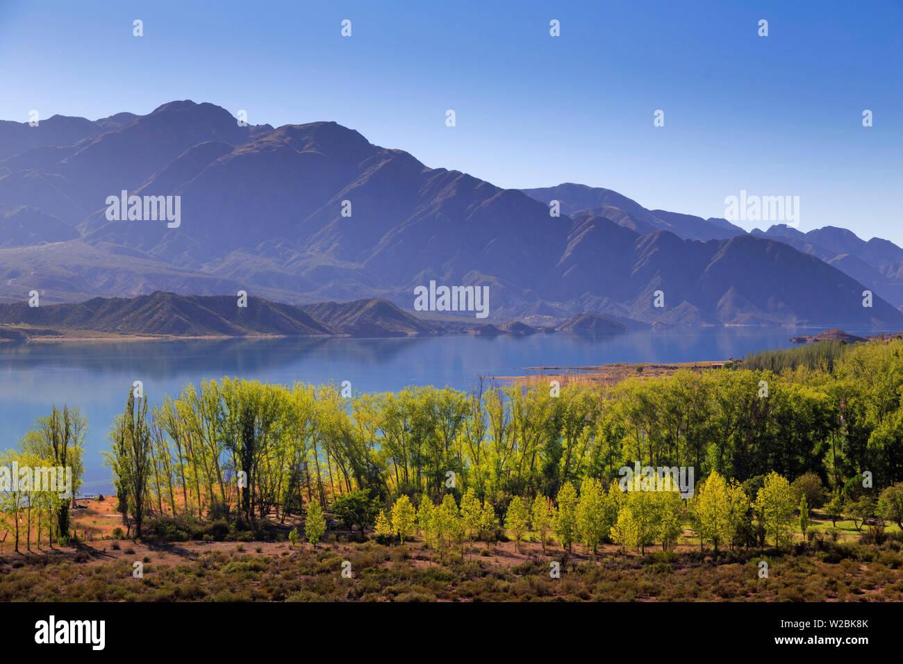 Argentina, Mendoza, Potrerillo Lake - Stock Image