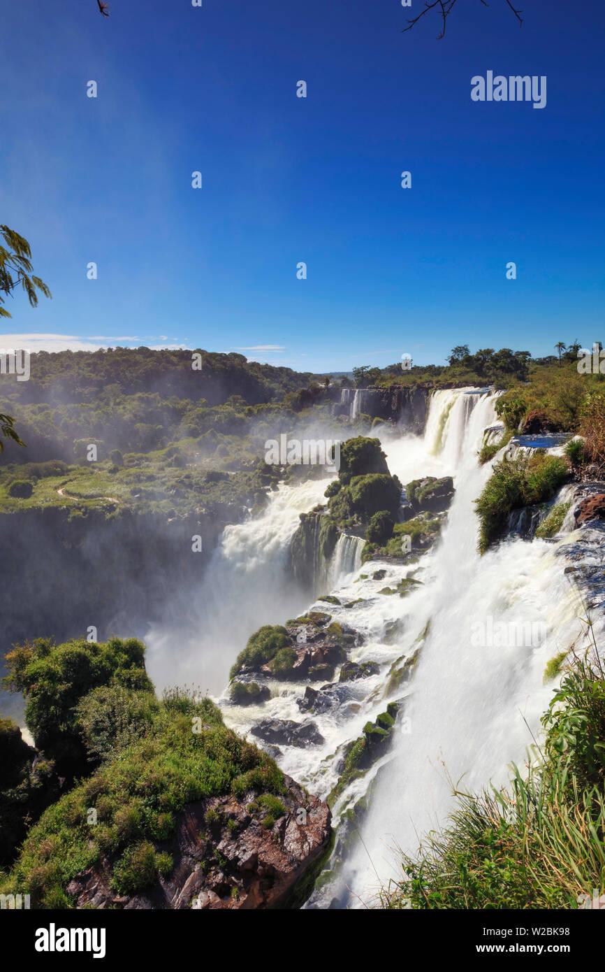 Argentina, Iguazu Falls National Park, (UNESCO Site) - Stock Image