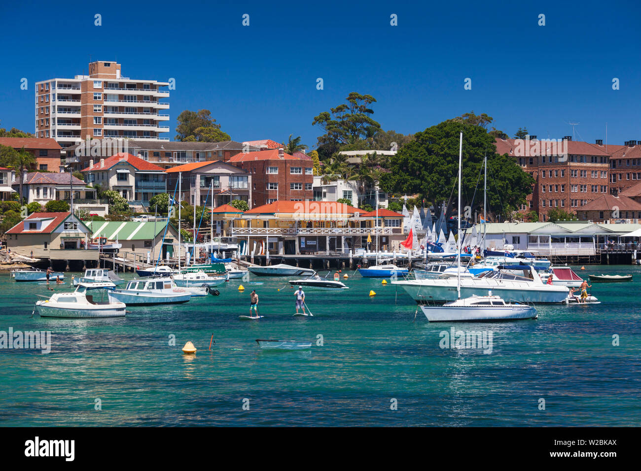 Australia, New South Wales, NSW, Sydney, Manly, Manly Cove - Stock Image