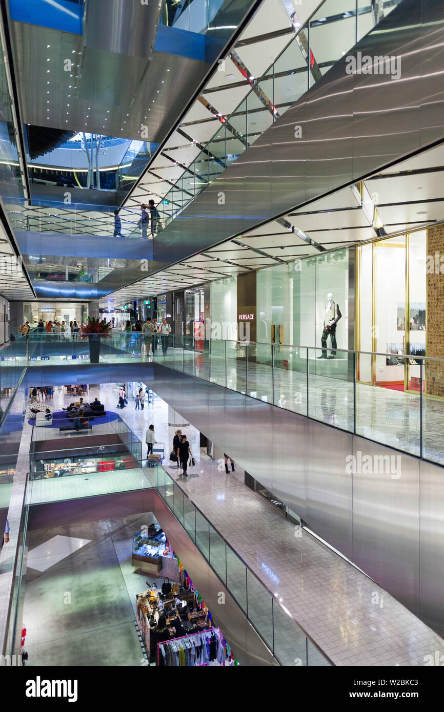 Australia, New South Wales, NSW, Sydney, The Westfield, shopping center, interior Stock Photo