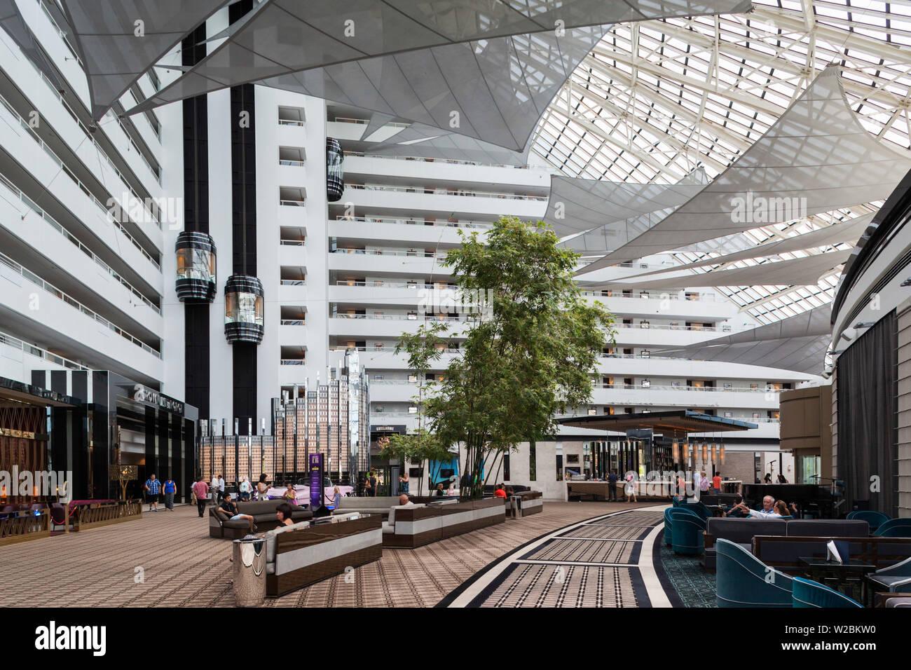 Australia, Western Australia, Perth-Burswood, Crown Perth Metropole Hotel, interior - Stock Image