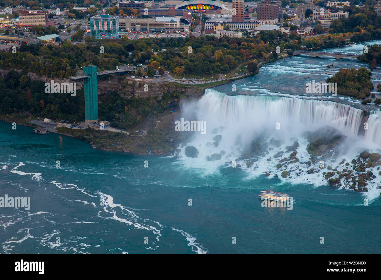 Canada And Usa Ontario And New York State Niagara Niagara