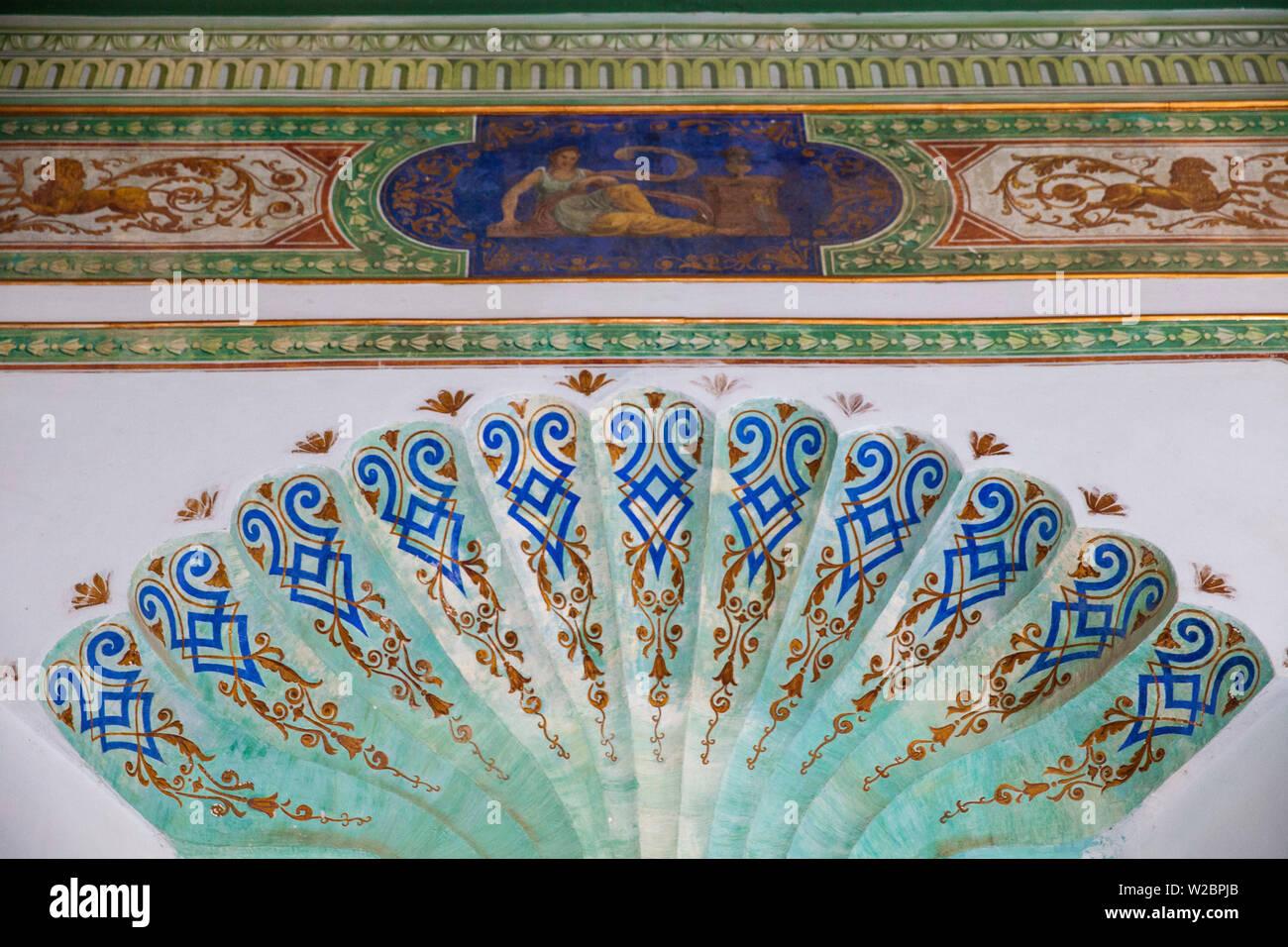 Cuba, Trinidad, Historical museum interior - Stock Image
