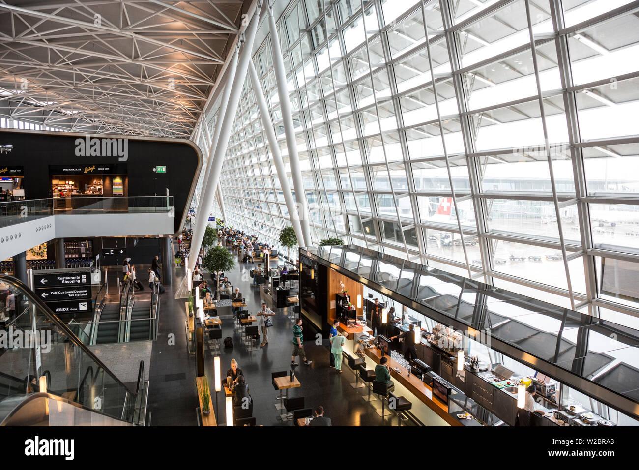 Zurich Airport, Switzerland - Stock Image