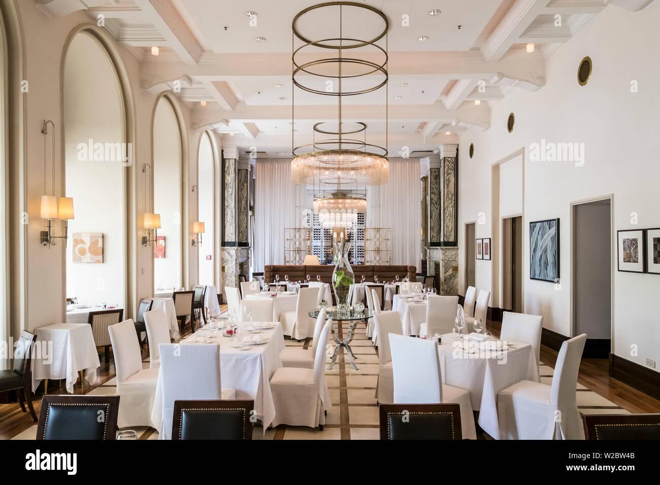 Zinfandel Restaurant Hotel Esplanade Zagreb Croatia Stock Photo Alamy