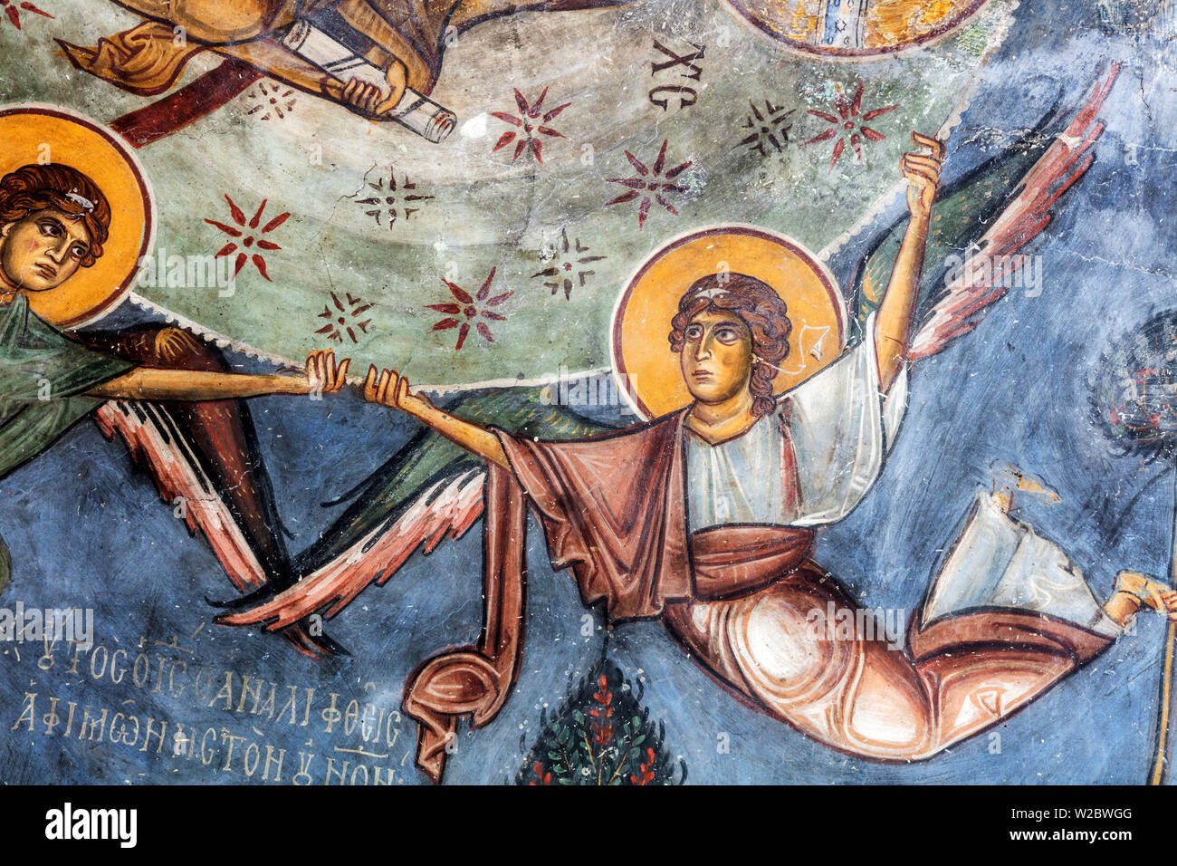 Byzantine church of Panagia Theotokos (12th century), Iskele, Northern Cyprus - Stock Image