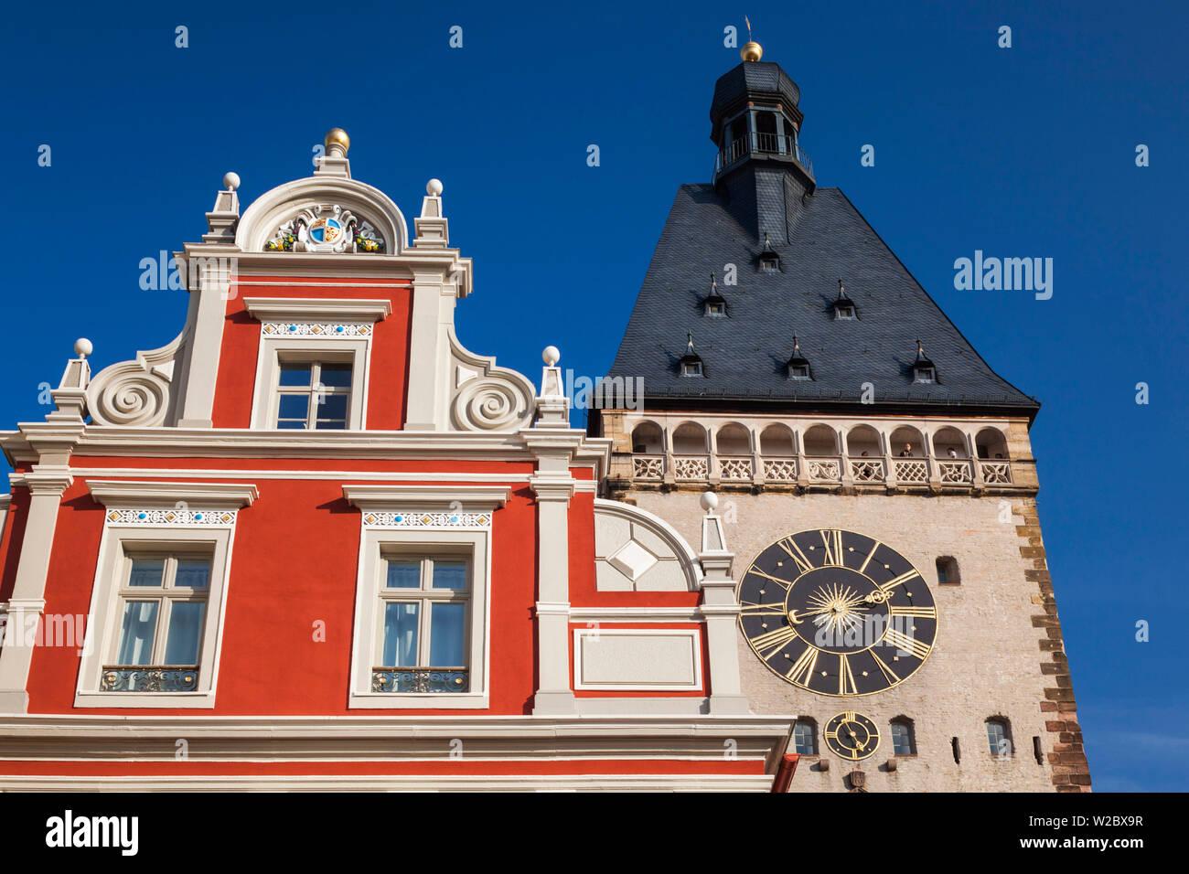 Germany, Rheinland-Pfalz, Speyer, Altportel city gate Stock Photo