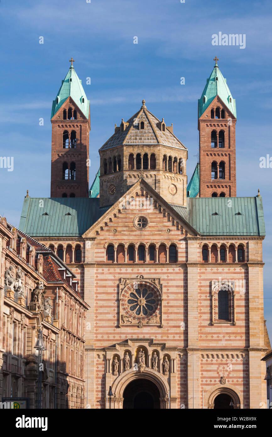 Germany, Rheinland-Pfalz, Speyer, Dom cathedral, exterior Stock Photo