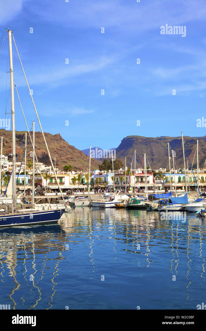 Puerto de Morgan, Gran Canaria, Canary Islands, Spain, Atlantic Ocean, Europe - Stock Image