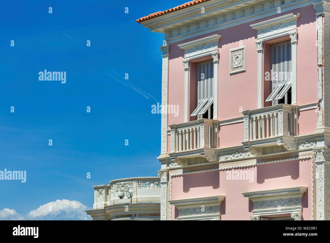 Villa Ephrussi de Rothschild, villa Ile-de-France, Saint-Jean-Cap-Ferrat, French Riviera, Alpes-Maritimes department, France - Stock Image