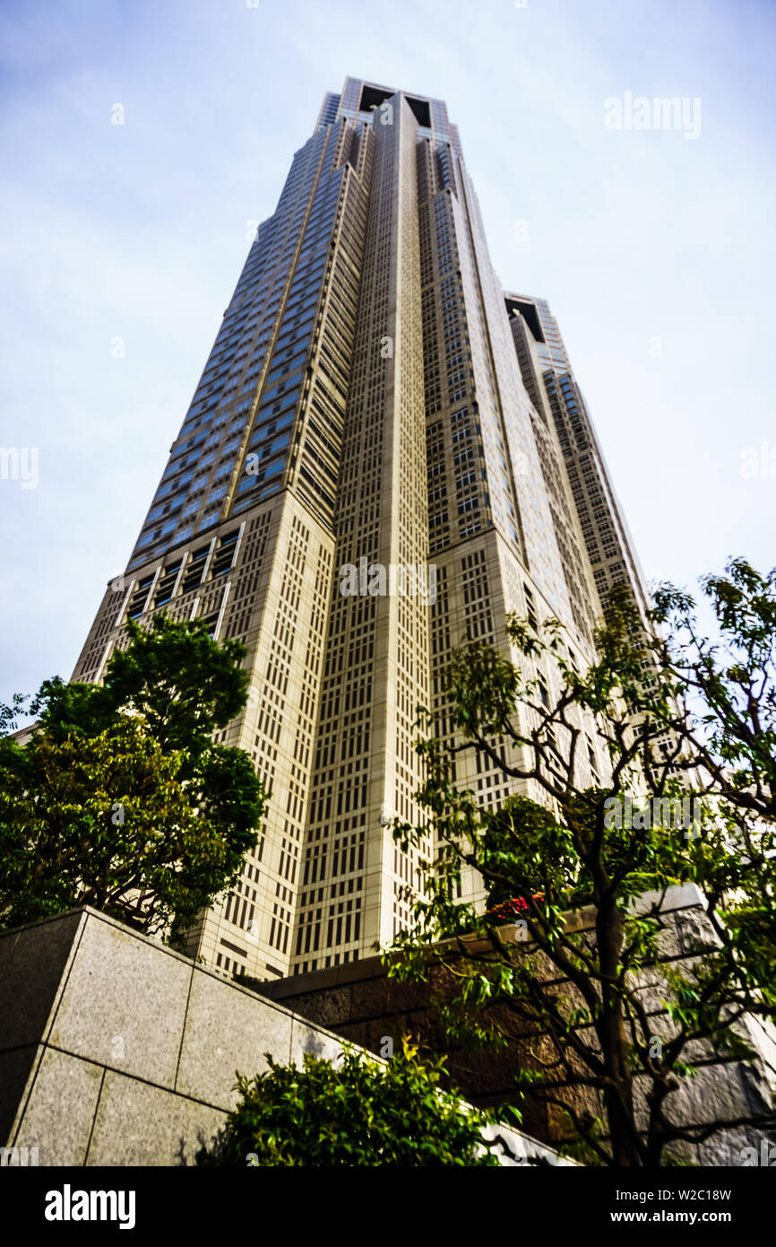 Tokyo, Japan - May 10, 2019: South Observation Deck of Tokyo Metropolitan Government Building. - Stock Image