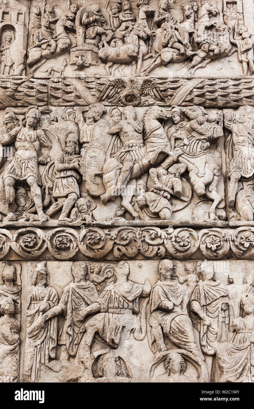 Greece, Central Macedonia Region, Thessaloniki, Arch of Galerius, b. 303 AD - Stock Image