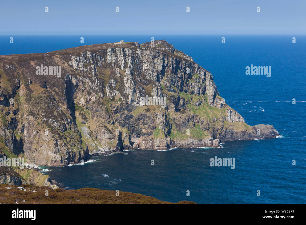 Ireland, County Donegal, Dunfanaghy, Horn Head - Stock Image