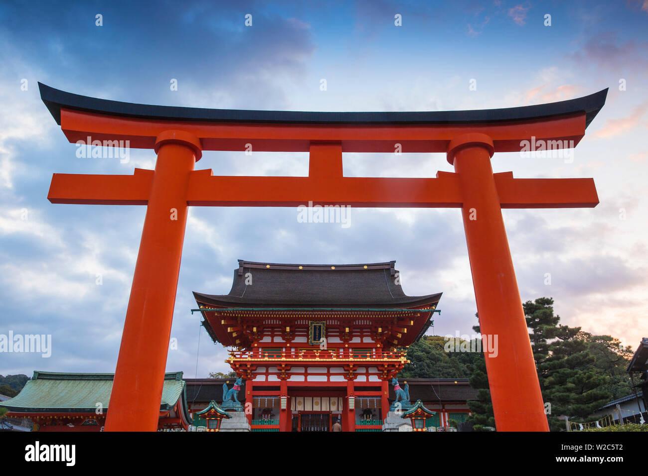 Japan, Kyoto, Fushimi Inari Shrine - Stock Image