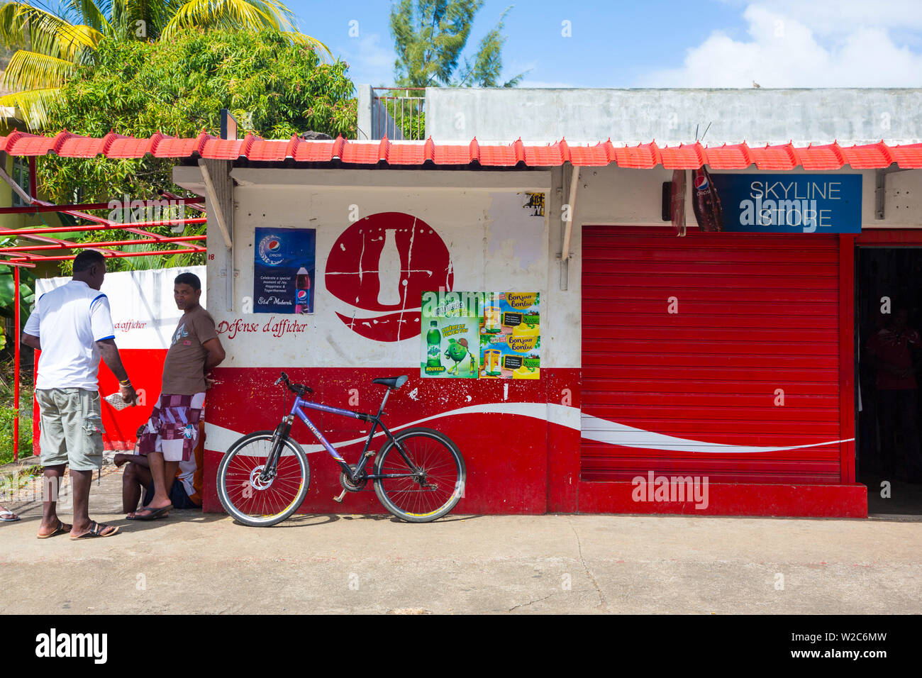 Grand Port district, East Coast, Mauritius - Stock Image