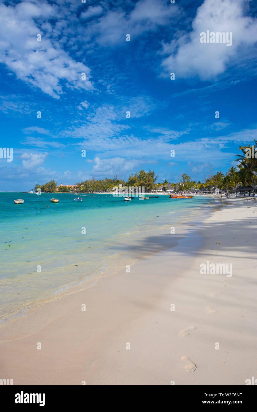 Belle Mare, Flacq, East Coast, Mauritius Stock Photo