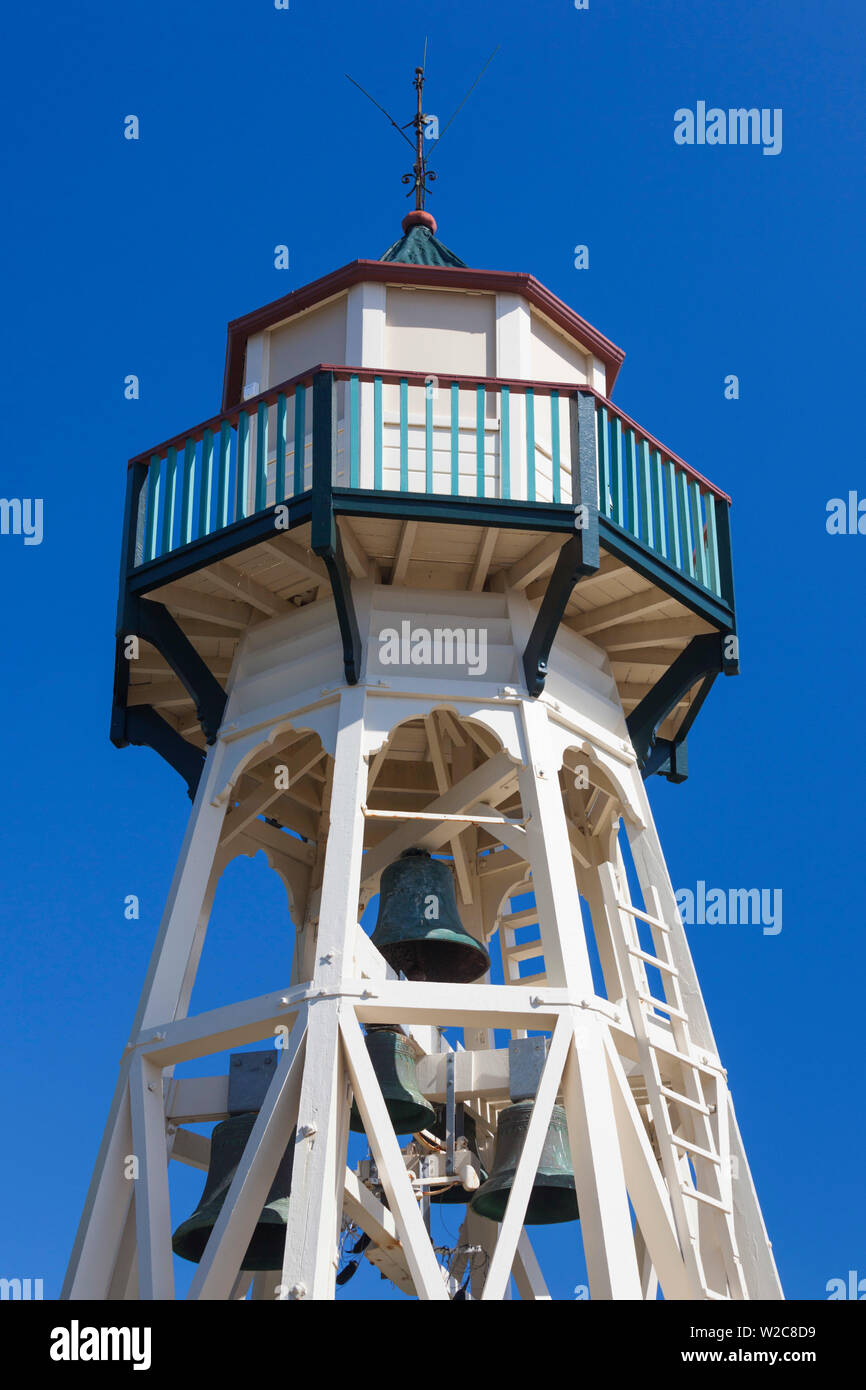 New Zealand, North Island, Wanganui, Cooks Gardens Tower Stock Photo