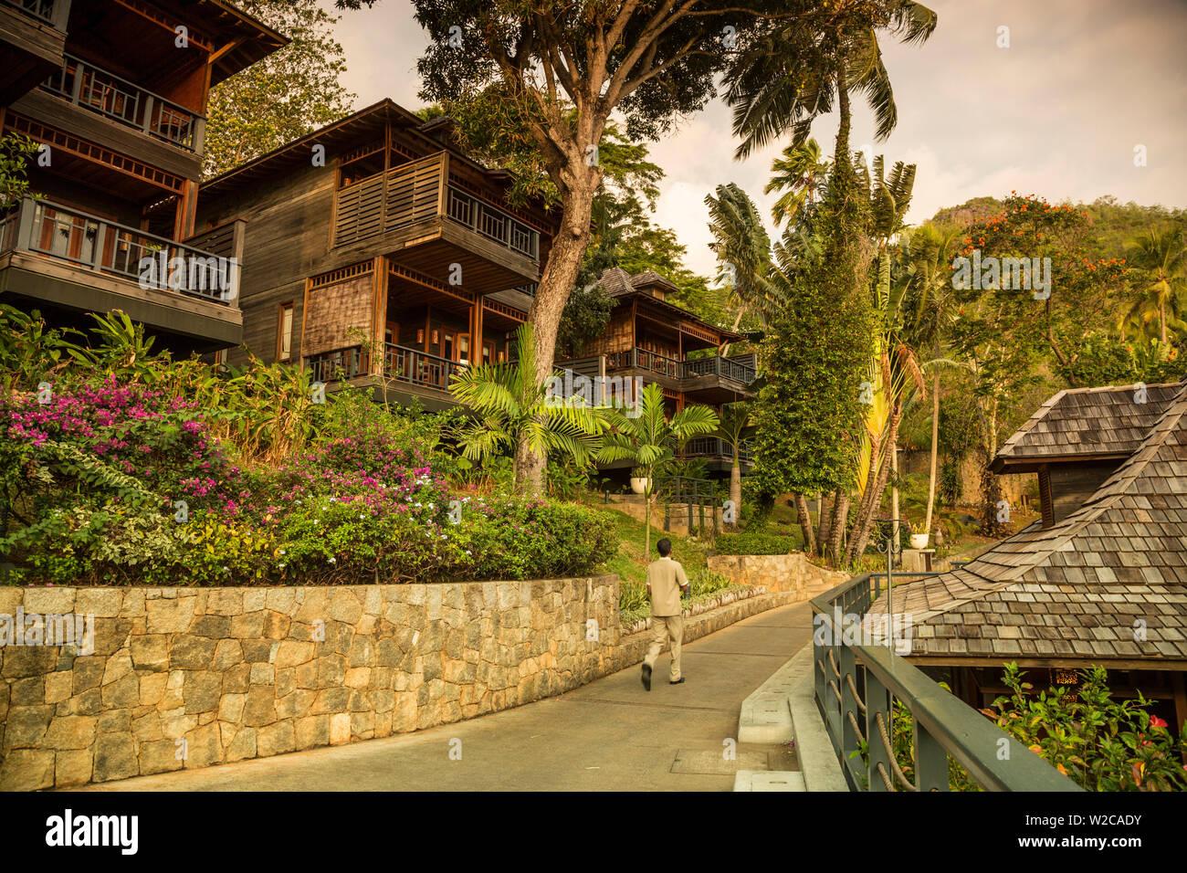 Hilton Northolme Resort, Mahe, Seychelles - Stock Image