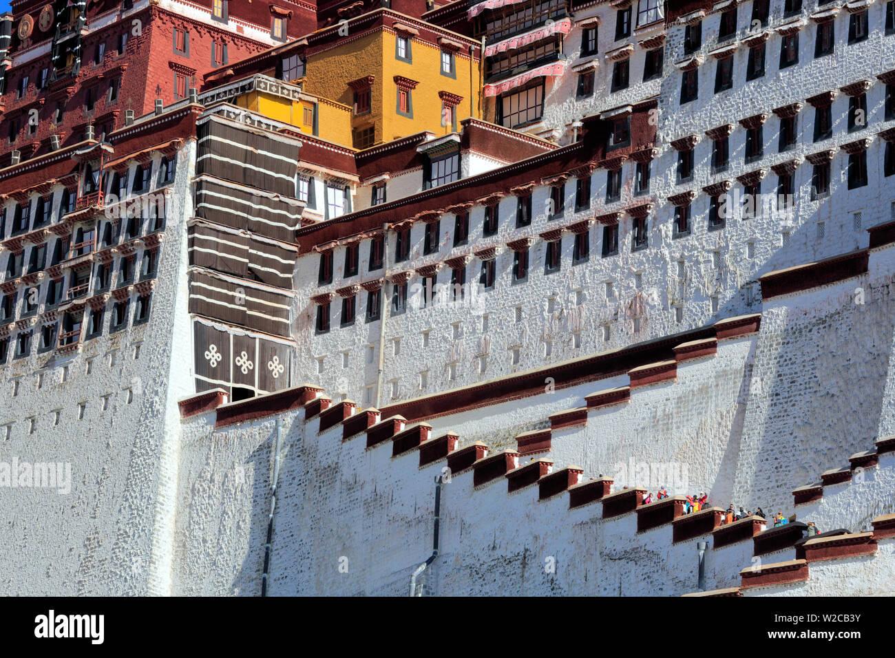 Potala Palace, Lhasa, Tibet, China Stock Photo