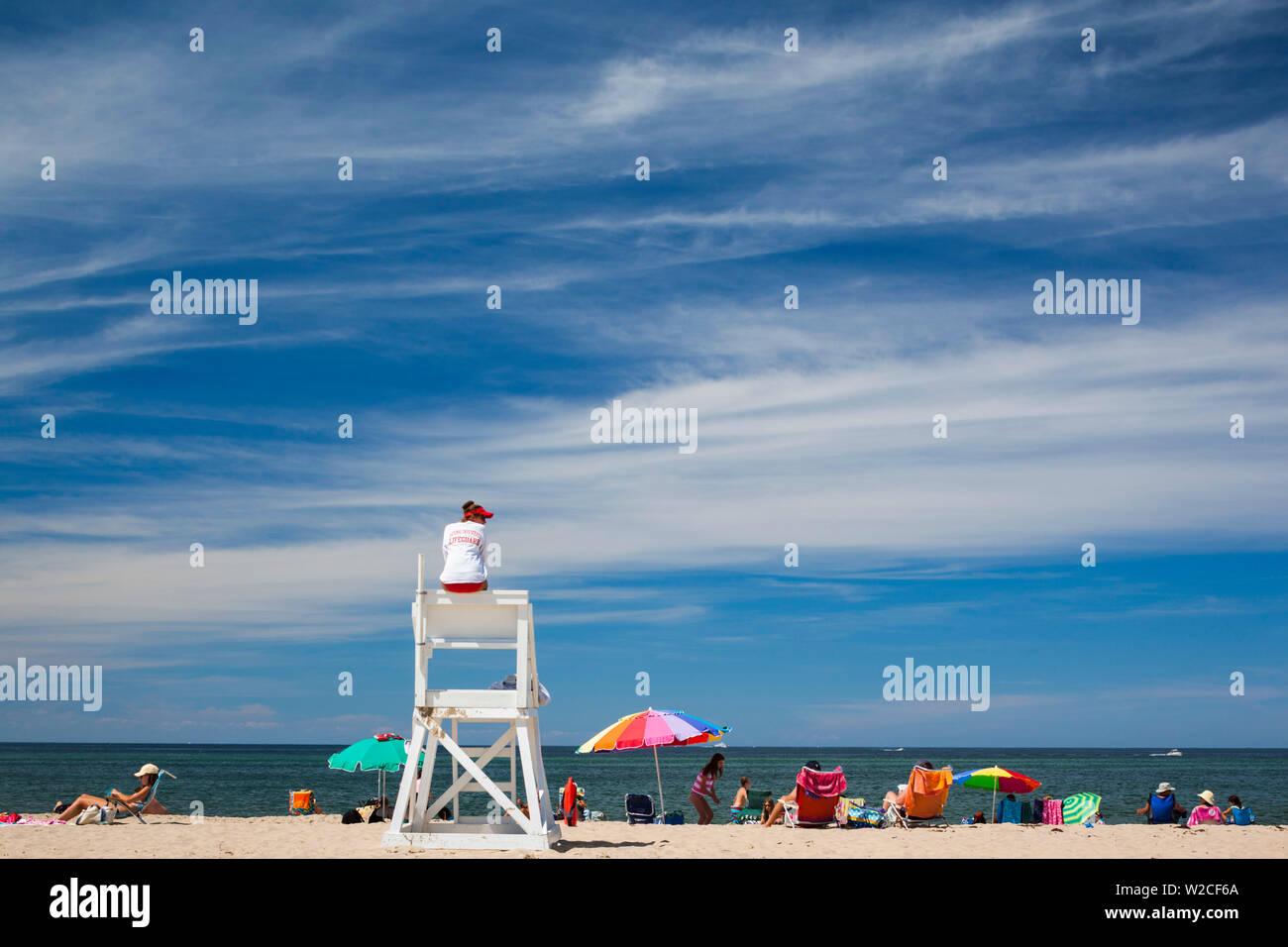 USA, Massachusetts, Cape Cod, Provincetown, Race Point Beach - Stock Image