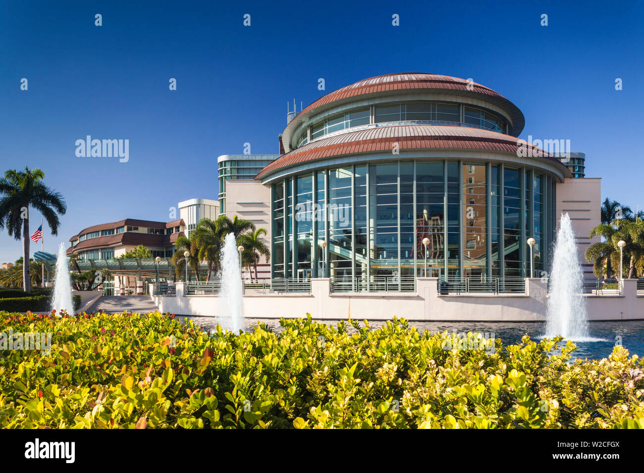 USA, Florida, West Palm Beach, Kravis Center for the Performing Arts - Stock Image