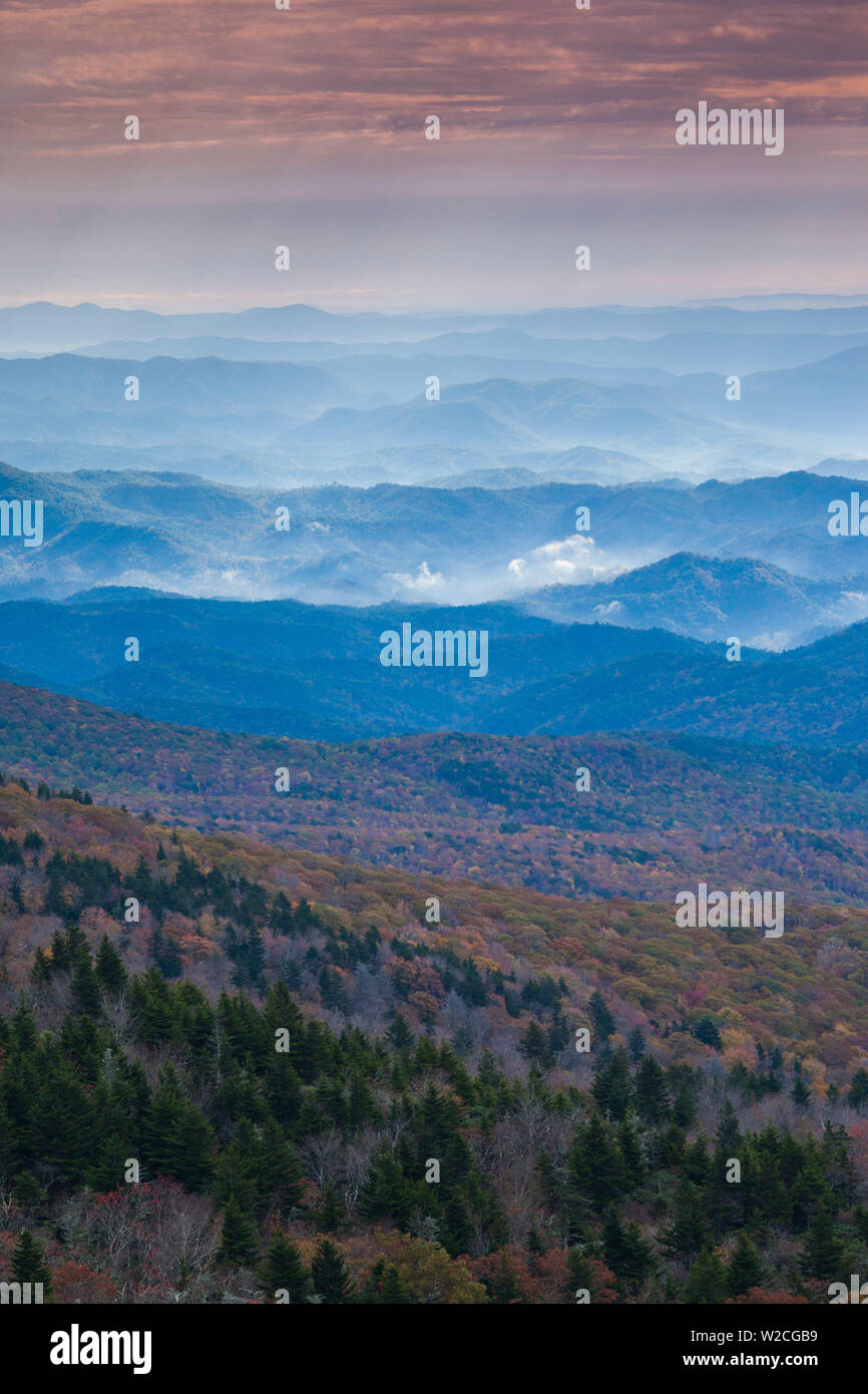 Usa North Carolina Grandfather Mountain State Park View
