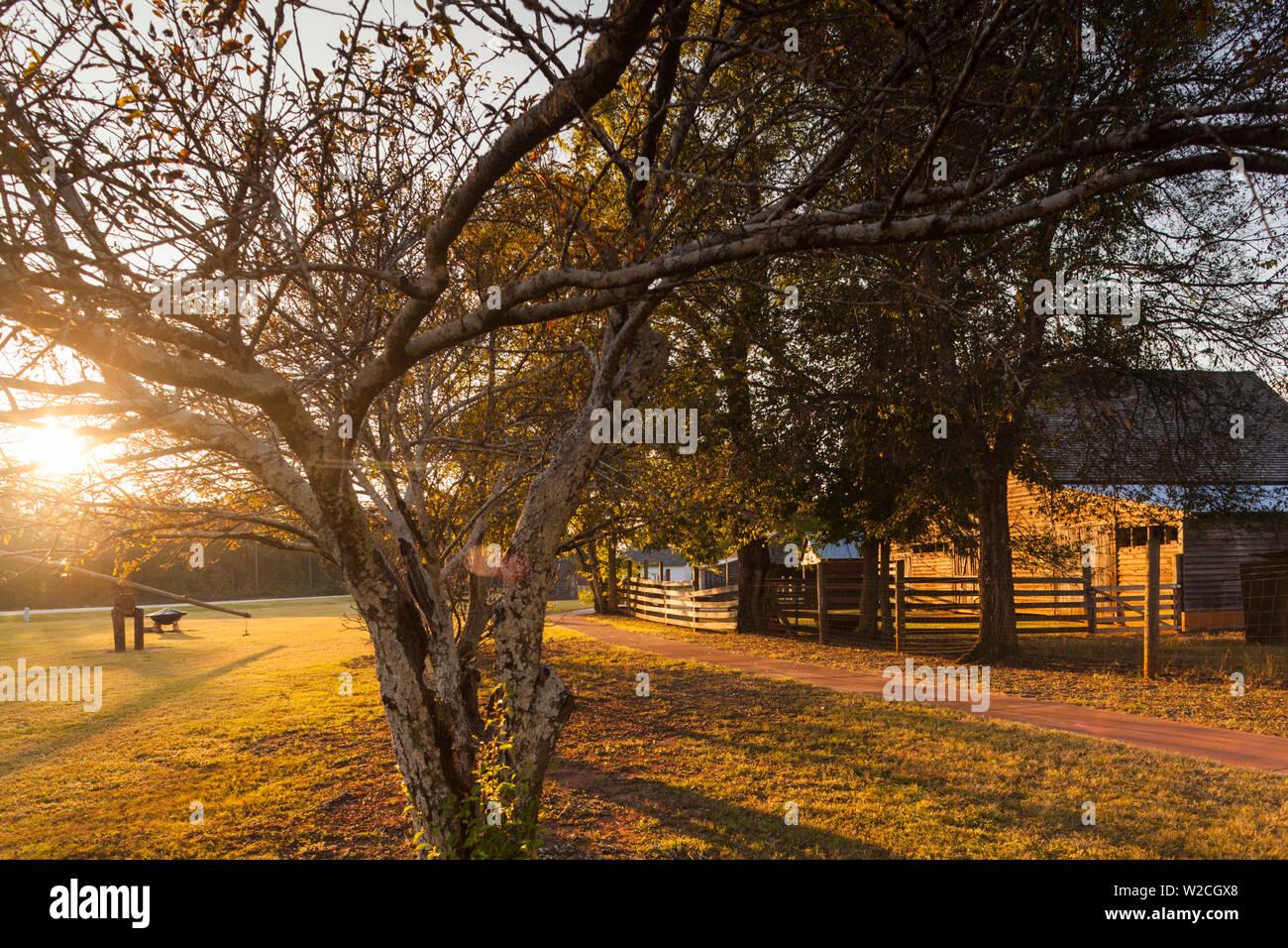 USA, Georgia, Plains, Jimmy Carter National Historic Site, Jimmy Carter's Boyhood Farm - Stock Image