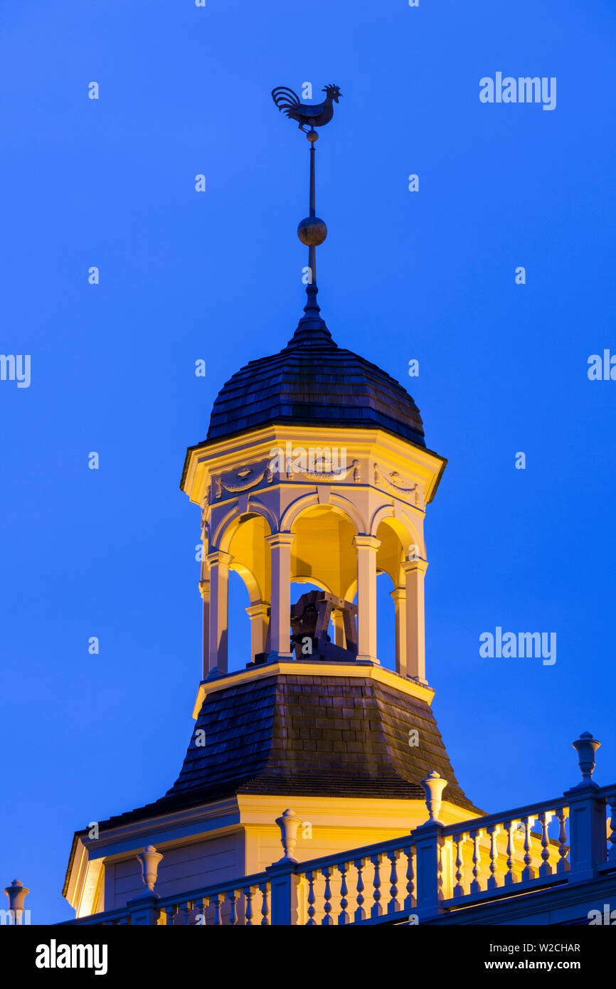 USA, Delaware, Dover, Delaware's State House, first legislative building, built in 1791, detail - Stock Image