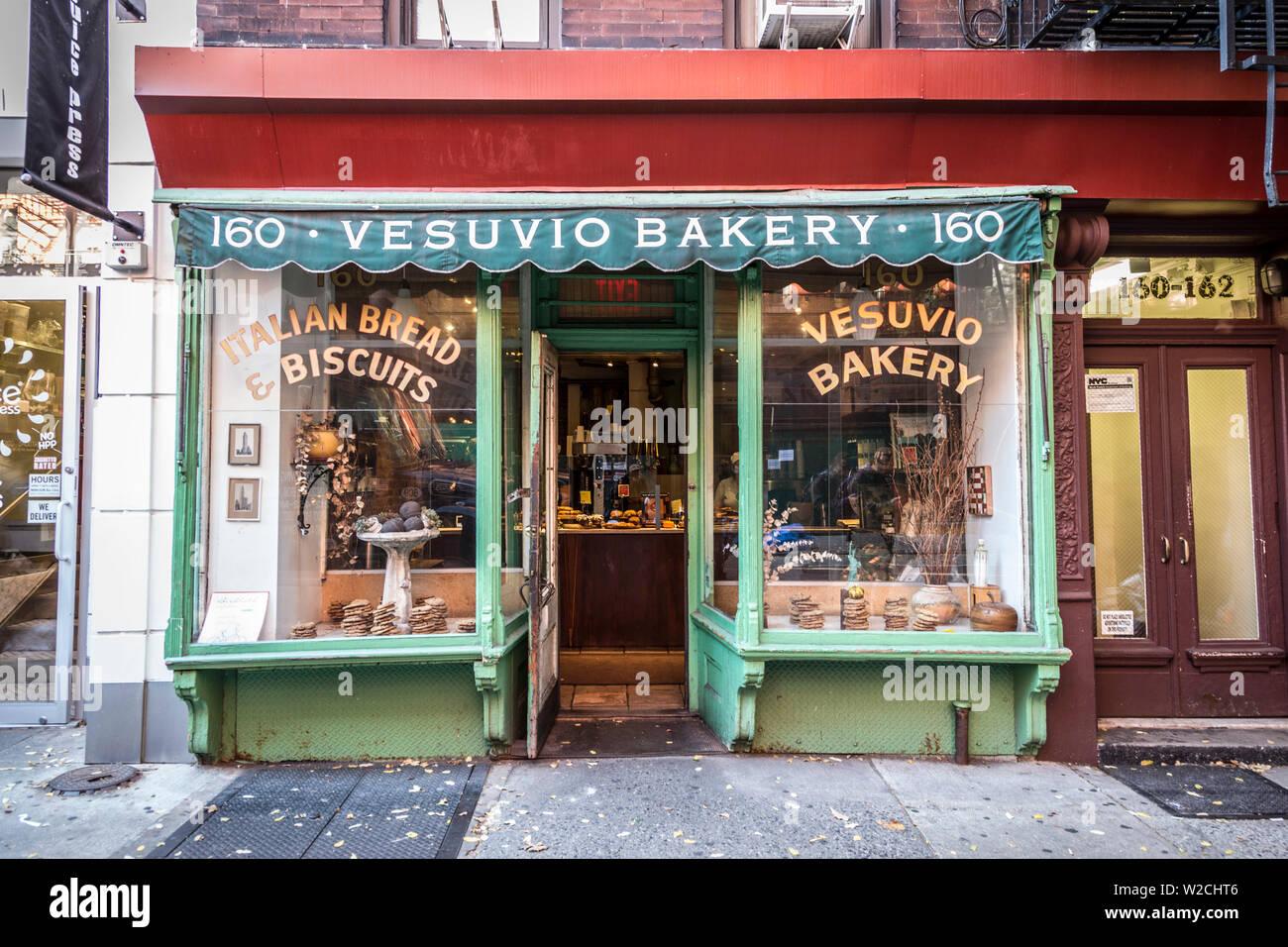 Bakery in Soho, Manhattan, New York City, New York, USA Stock Photo
