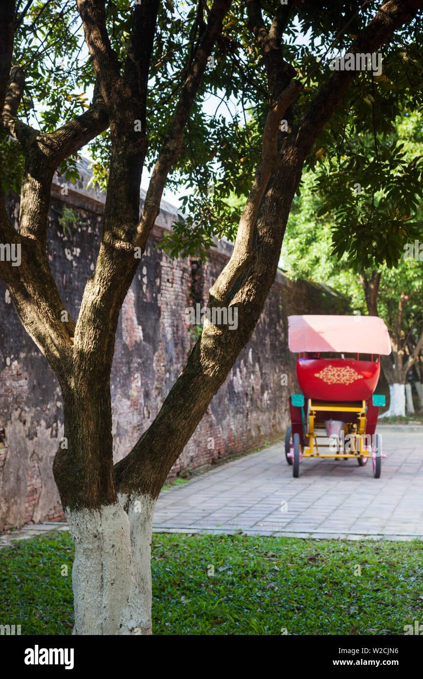 Vietnam, Hue, Hue Imperial City, rickshaw Stock Photo