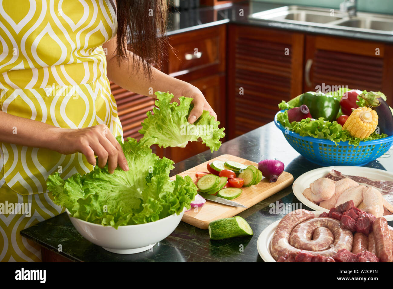 Stereotypical Housewife Stock Photos Stereotypical Housewife Stock