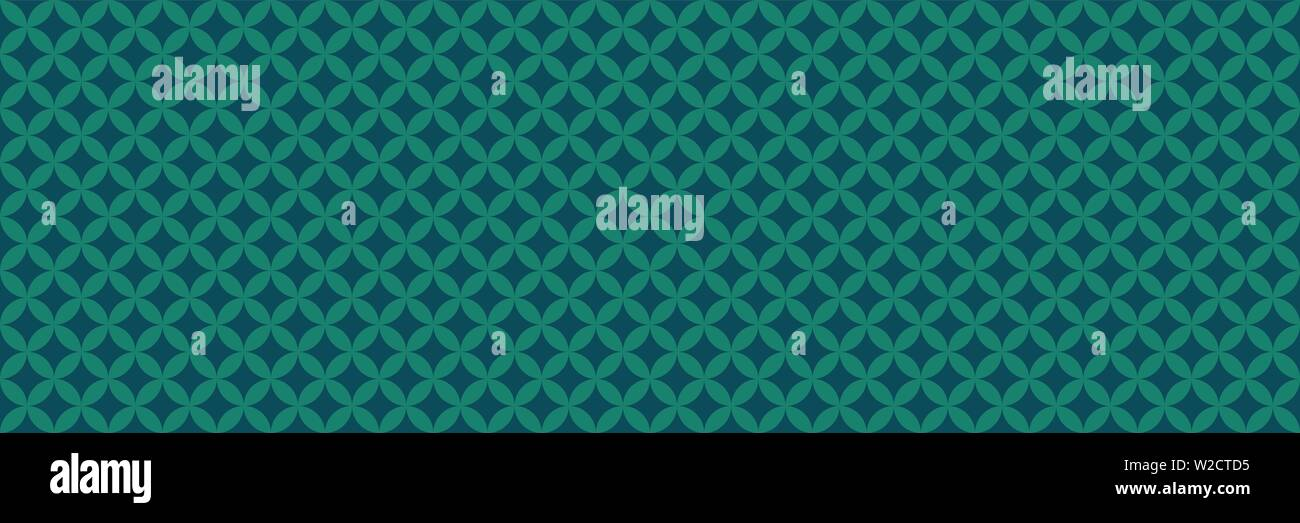 Wide background with vintage geometric pattern. Seamless pattern option. - Stock Image