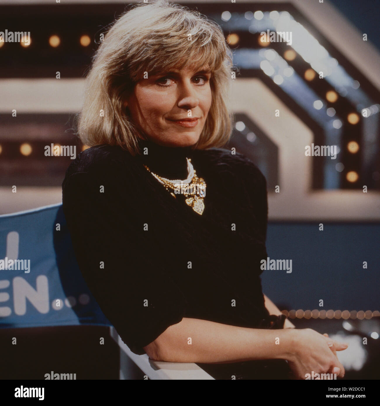 Kaum zu glauben, Fernsehschow, Deutschland 1988, Mitwirkende: Mary Roos Stock Photo
