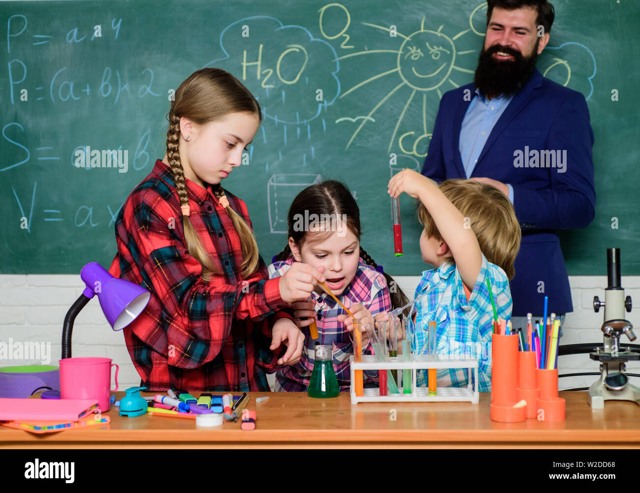 Learning is integrated. With experience comes knowledge. Formal education. Group interaction communication. Practical knowledge. Elementary basic knowledge. Study with friends is fun. Control process. - Stock Image