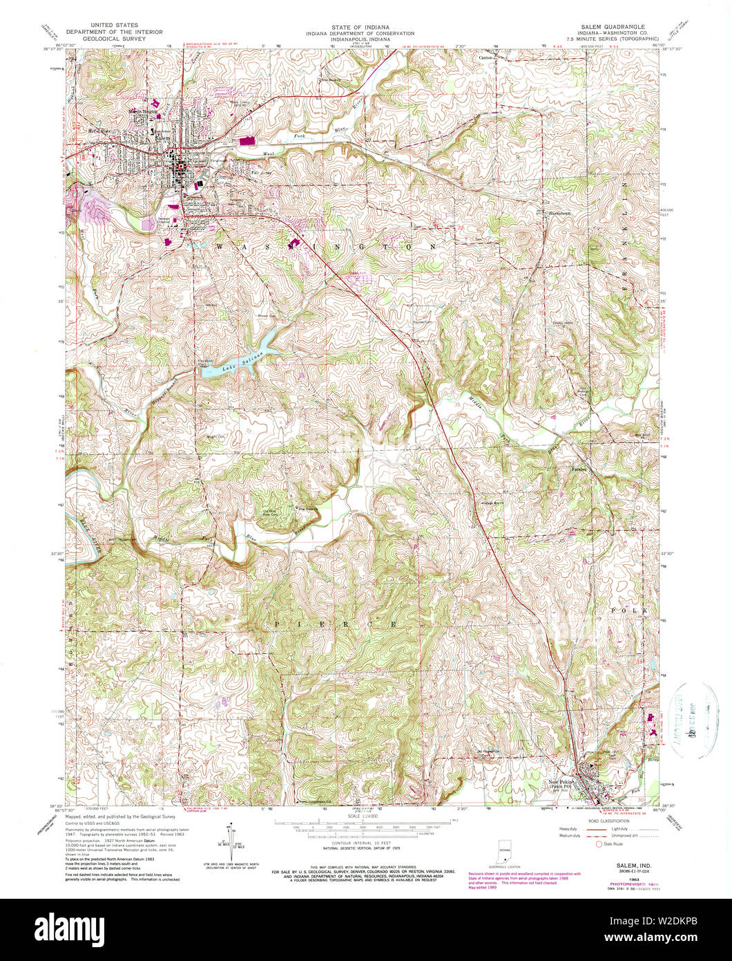 USGS TOPO Map Indiana IN Salem 159404 1963 24000 Restoration ... Salem Indiana Map on salem in october, salem on halloween, salem logo, salem india, salem mall, salem golf club, salem capitol building, salem tv,