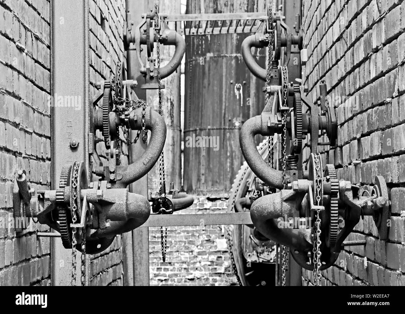 Industrial Relics #8 - Stock Image