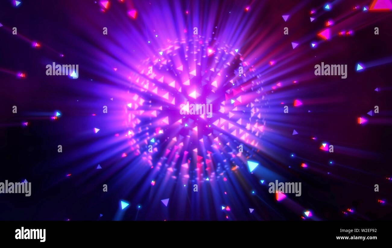Motion Colorful Disco Ball Abstract Background Elegant And