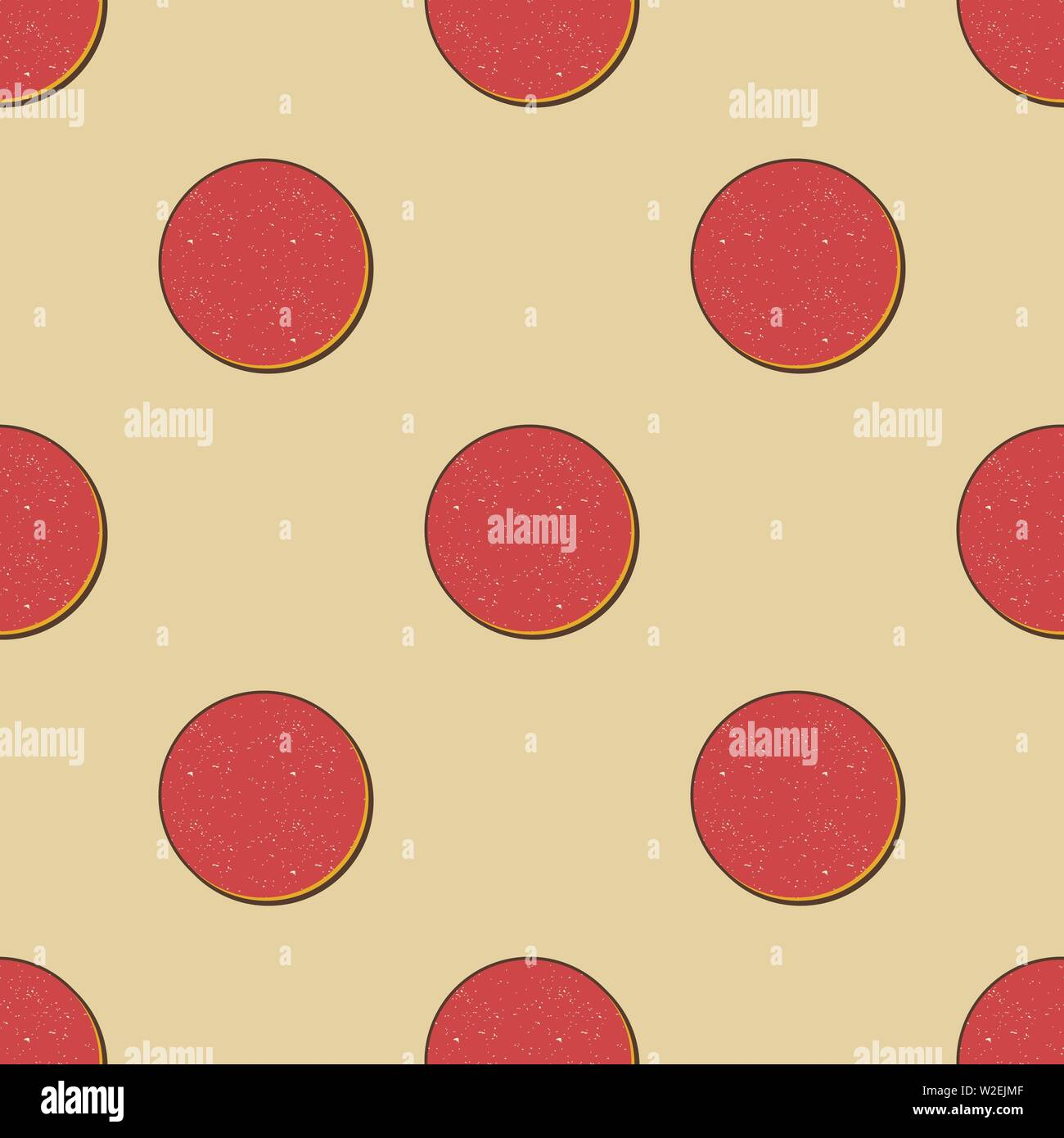 Retro dots pattern  Abstract geometric background in 80s