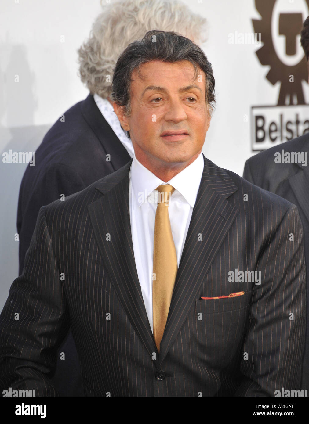 LOS ANGELES, CA. August 03, 2010: Sylvester Stallone at the world premiere of his new movie 'The Expendables' at Grauman's Chinese Theatre, Hollywood. © 2010 Paul Smith / Featureflash - Stock Image