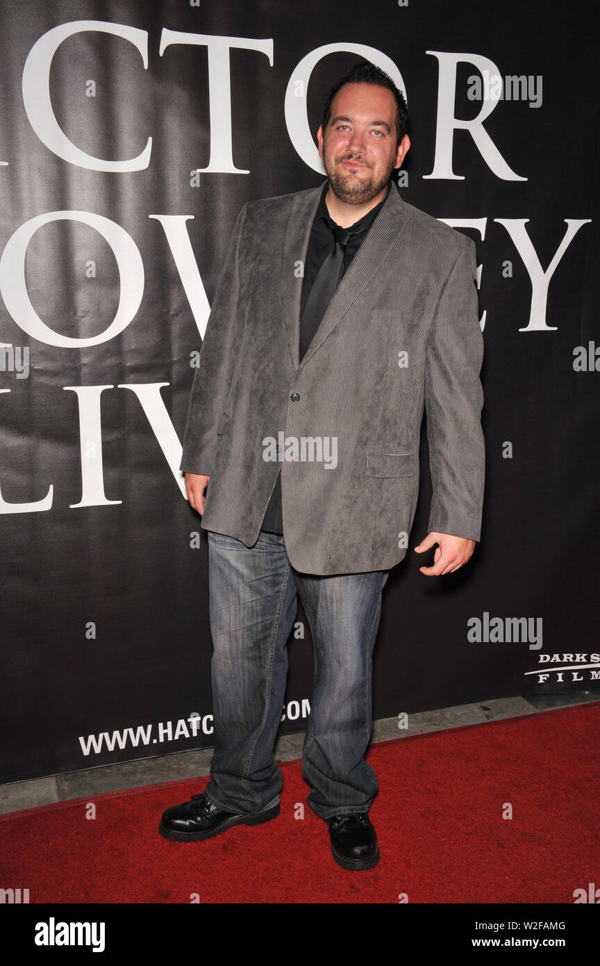 LOS ANGELES, CA. September 29, 2010: Ed Ackerman at the premiere of Hatchet II at the Egyptian Theatre, Hollywood. © 2010 Paul Smith / Featureflash - Stock Image
