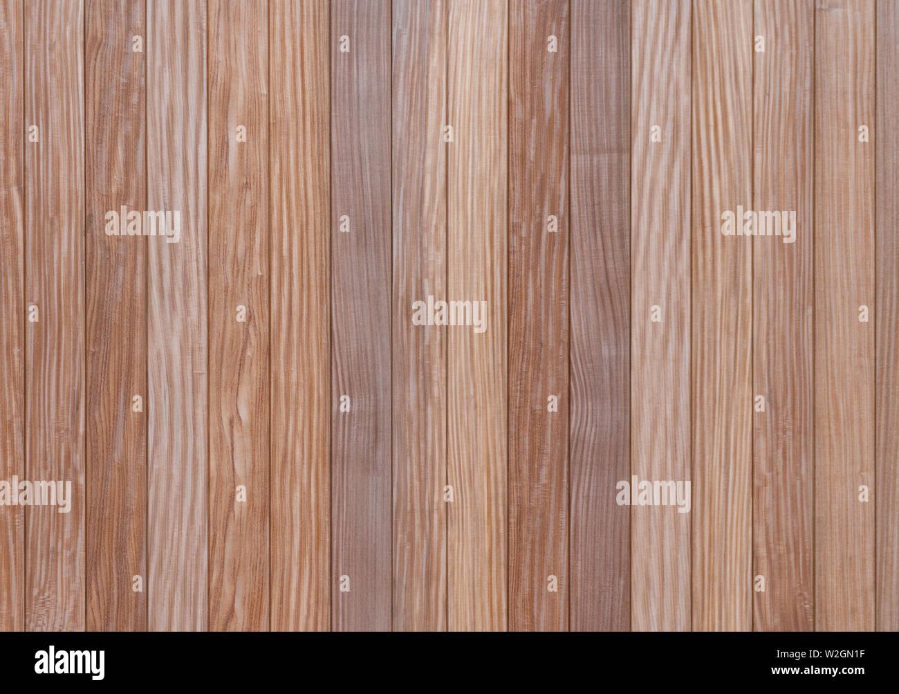 Wood texture background, wood plank flooring surface - Stock Image