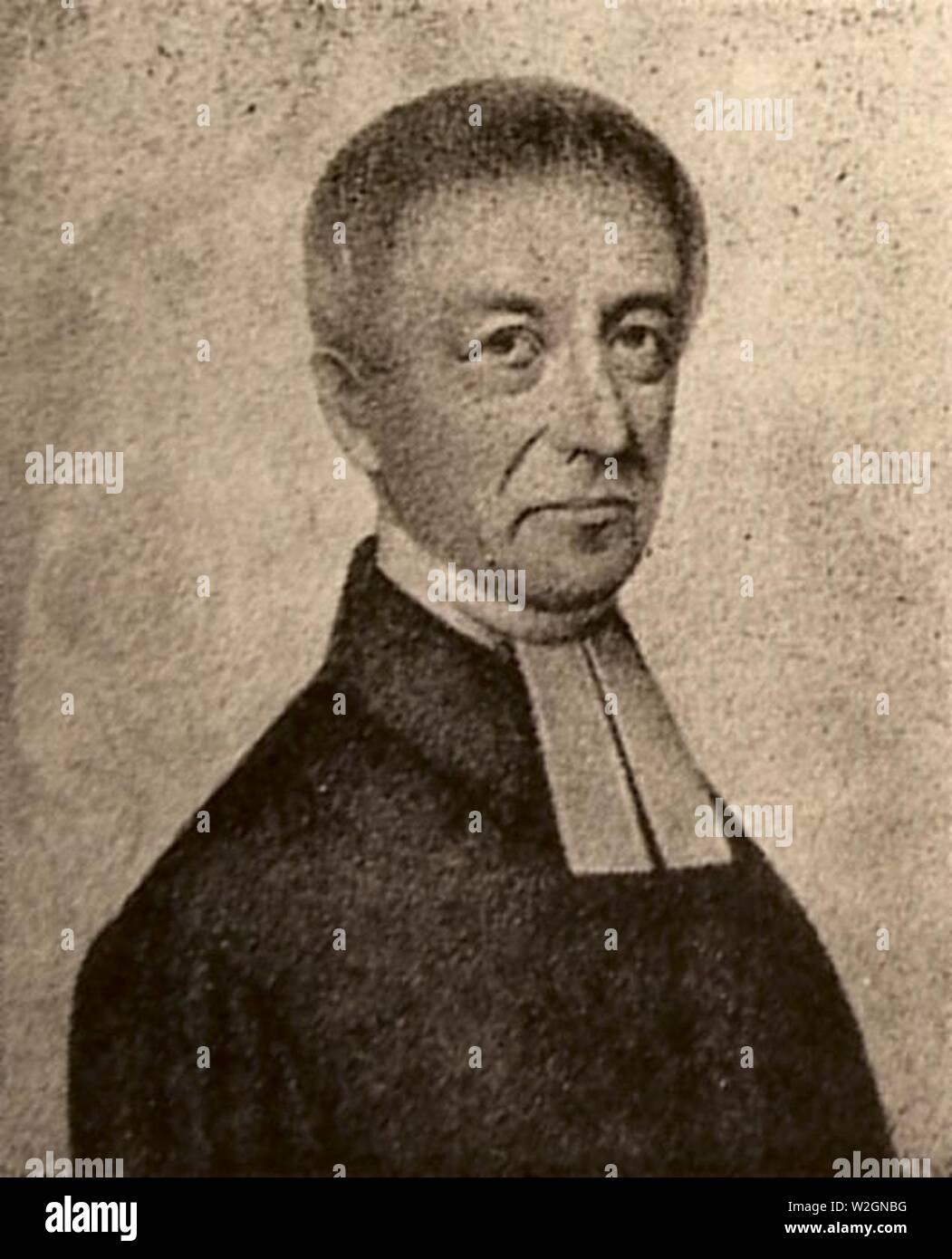 Christian Friedrich Stempel. - Stock Image