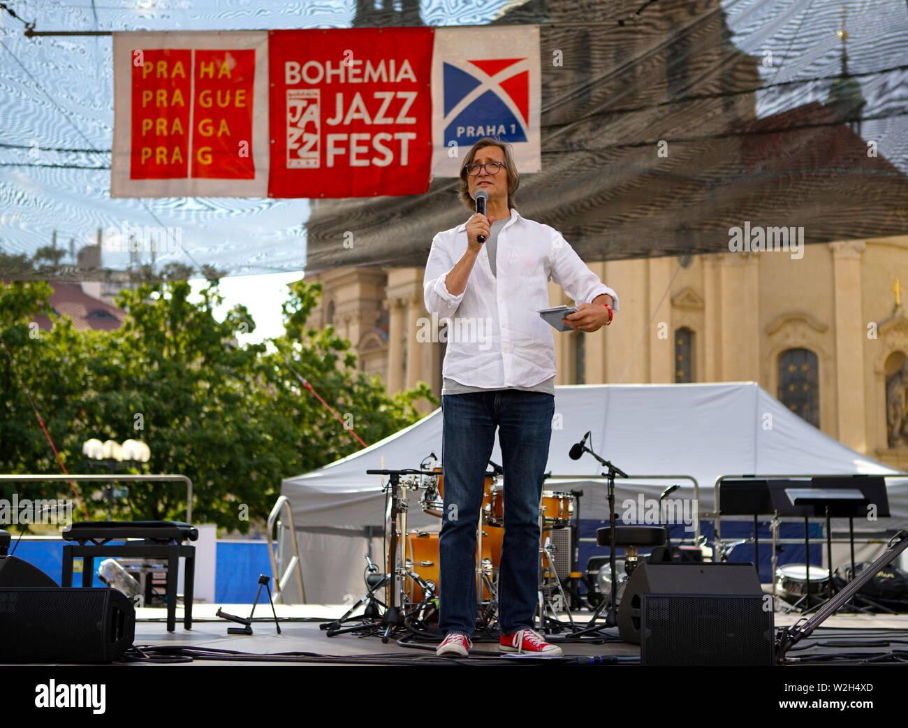 Prague, Czech Republic  8th July, 2019  Rudy Linka, founder
