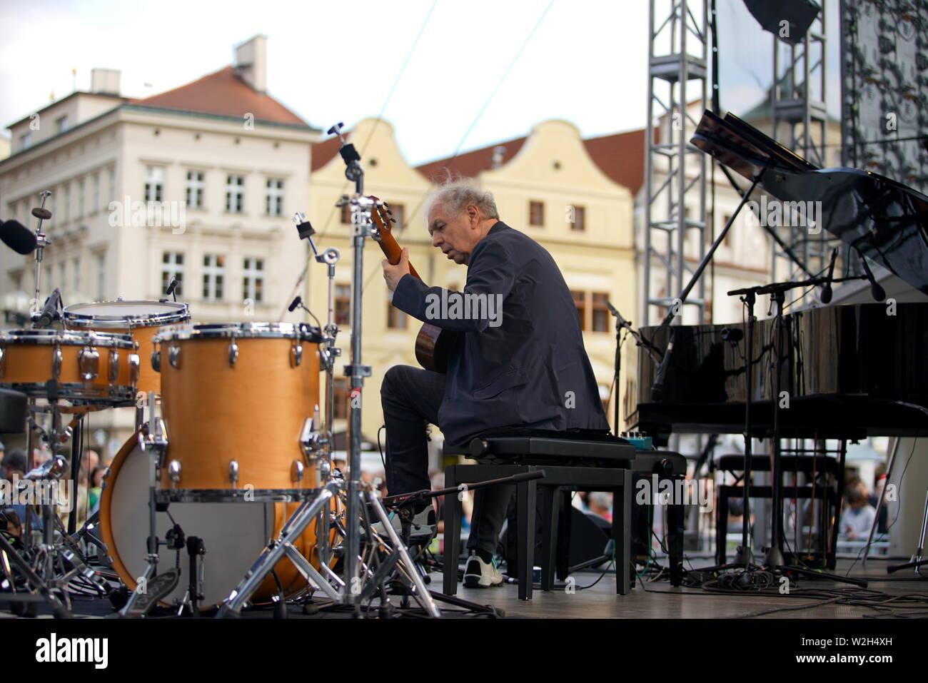 Prague, Czech Republic  8th July, 2019  American multi