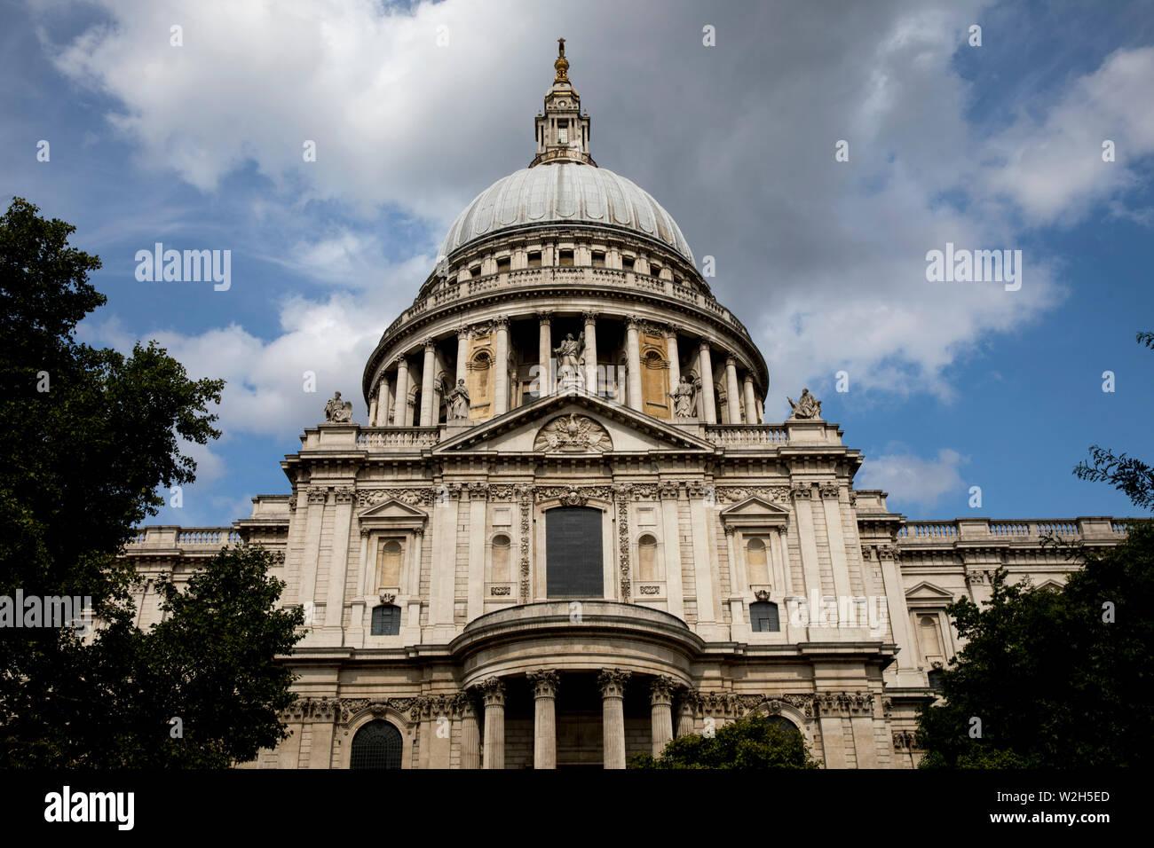 Saint Paul's cathedral, London, U.K. Stock Photo