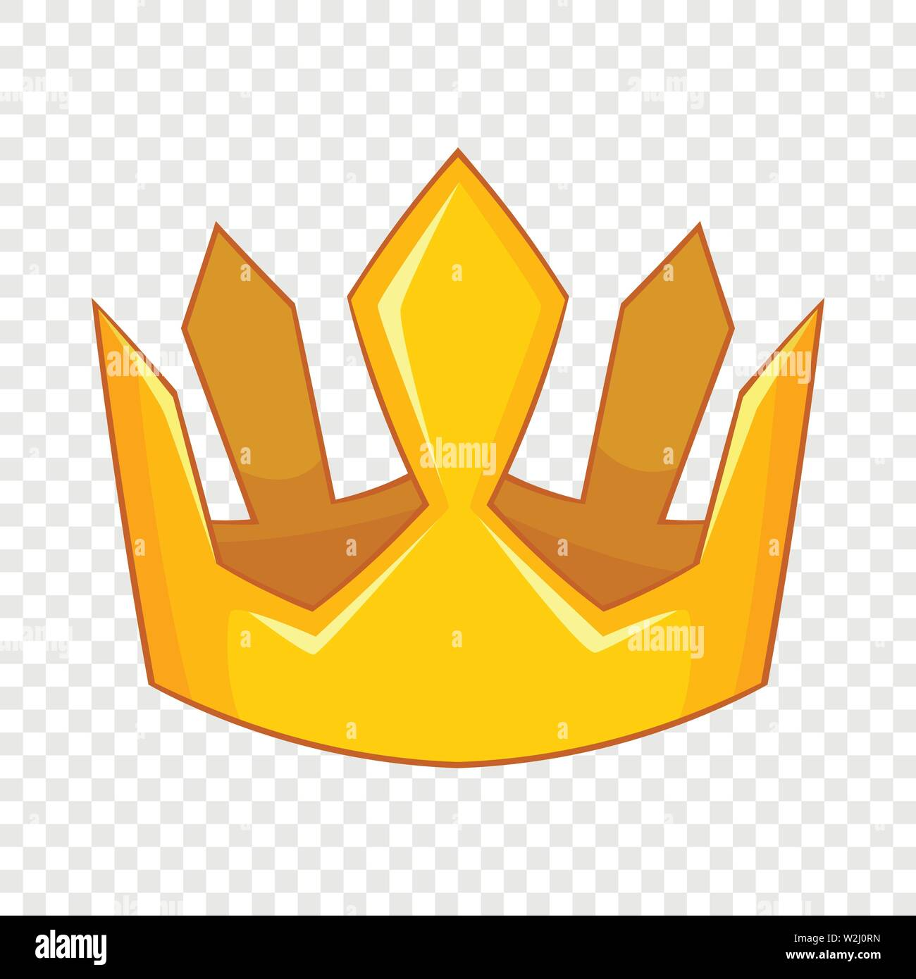 King Crown Icon Cartoon Style Stock Vector Image Art Alamy Make an awesome king logo online with brandcrowd's king logo maker. alamy