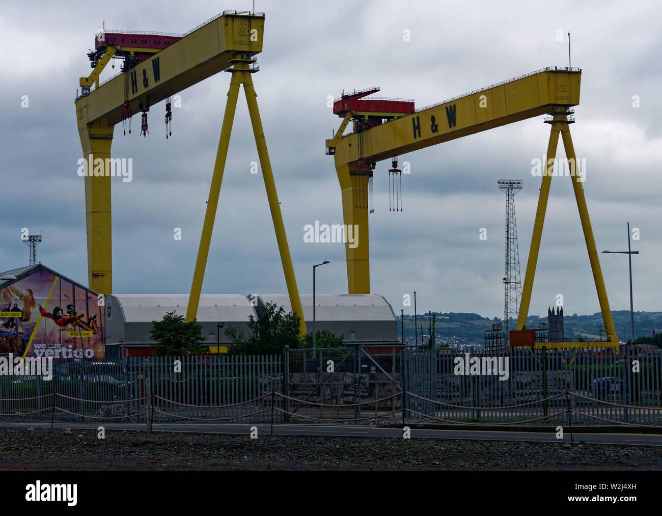 Belfast Titanic Museum and Visitor Centre, Belfast City, Northern Ireland - Stock Image